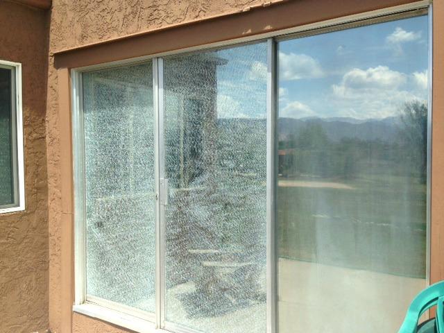 Broken sliding doors