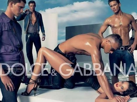 Dolce and Gabbanna advertisment