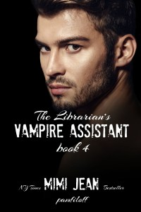 THE LIBRARIAN'S VAMPIRE ASSISTANT, Book Four. A Cozy Mystery by New York Times bestseller Mimi Jean Pamfiloff
