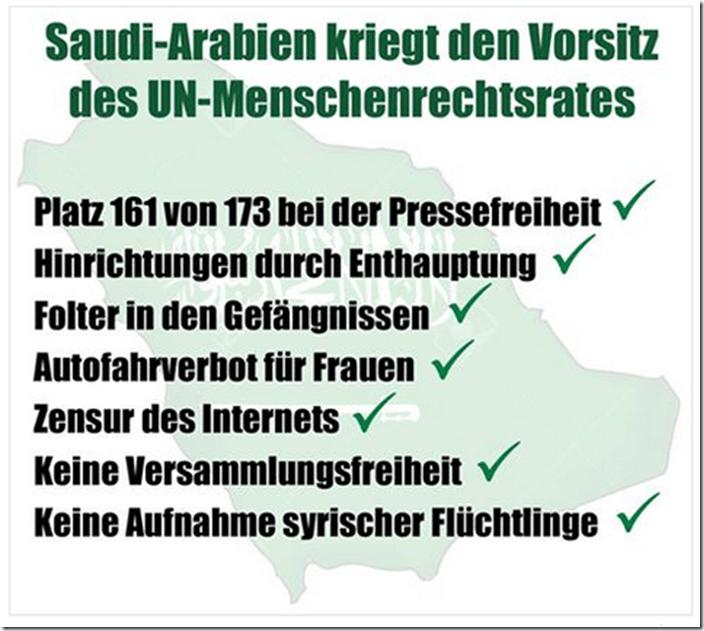Bildergebnis für menschenrechte saudi arabien