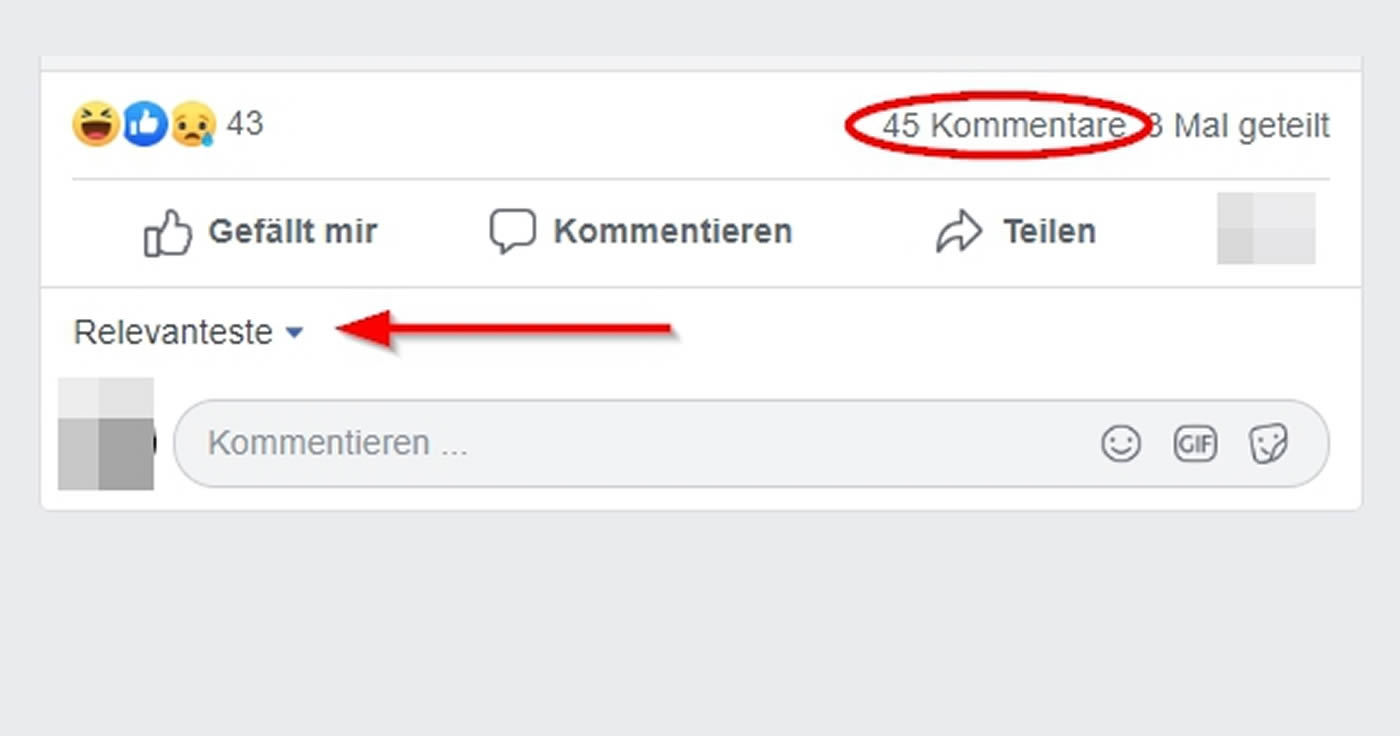 Facebook Wenn Du Keine Kommentare Mehr Siehst