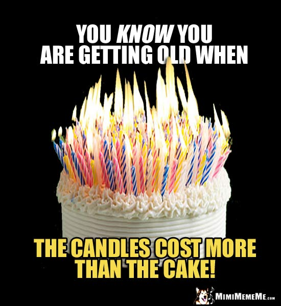 Birthday Jokes About Getting Old