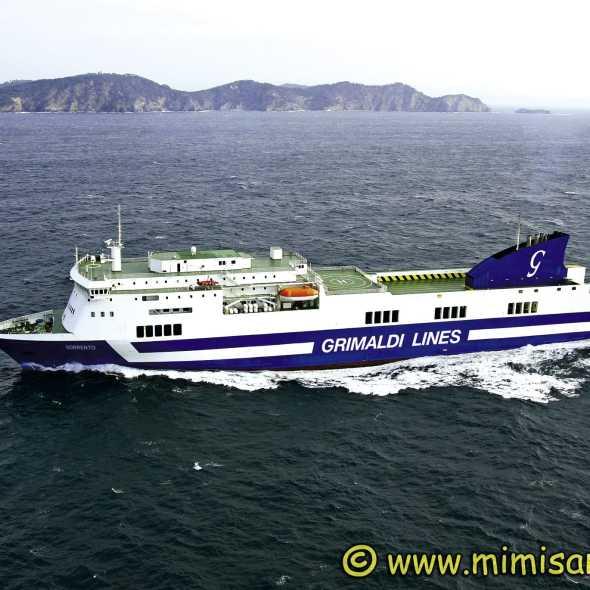 Ferry Sorrento Grimaldi Lines