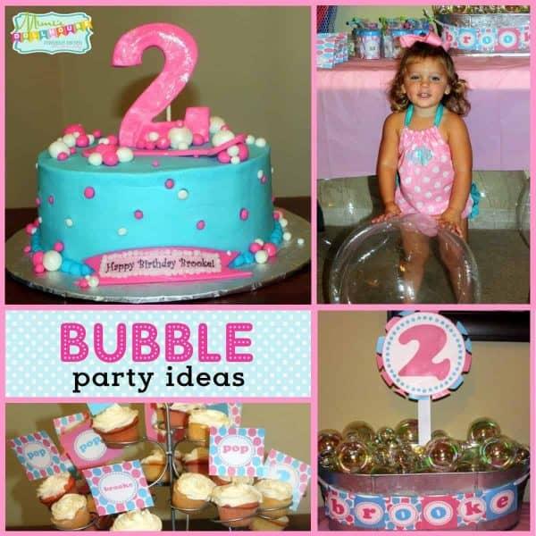 Bubble Party Ideas 2 Bubblicious Birthdays Mimi S Dollhouse