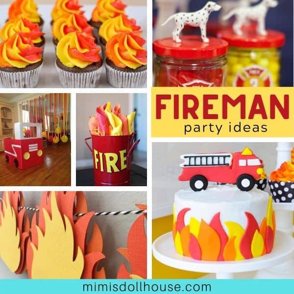 Firetruck Birthday Party Ideas Desserts Mimi S Dollhouse