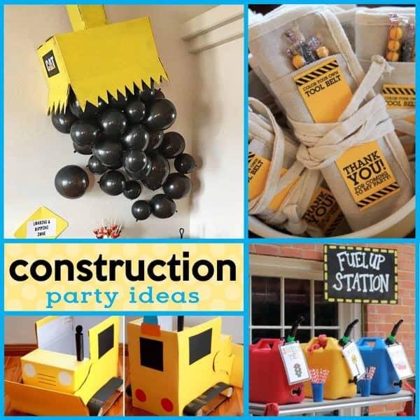 18 Buildable Diy Construction Party Ideas Mimi S Dollhouse