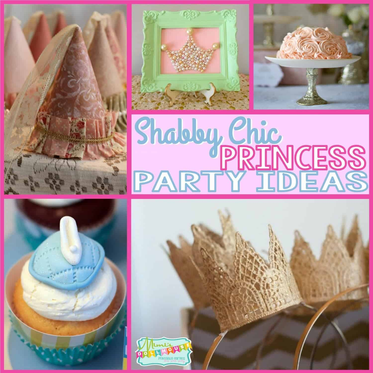 4th Themes Party Girls Birthday