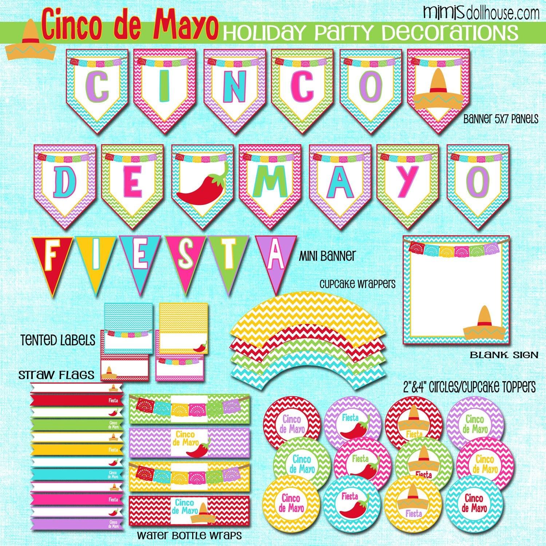 Cinco De Mayo Free Cinco De Mayo Printables