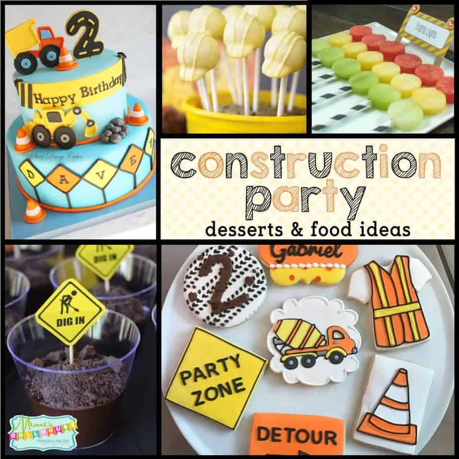 Marvelous Construction Party Food Ideas Mimi S Dollhouse