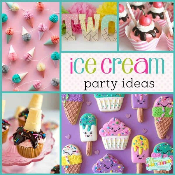 How To Throw A Cool Ice Cream Party Mimi S Dollhouse