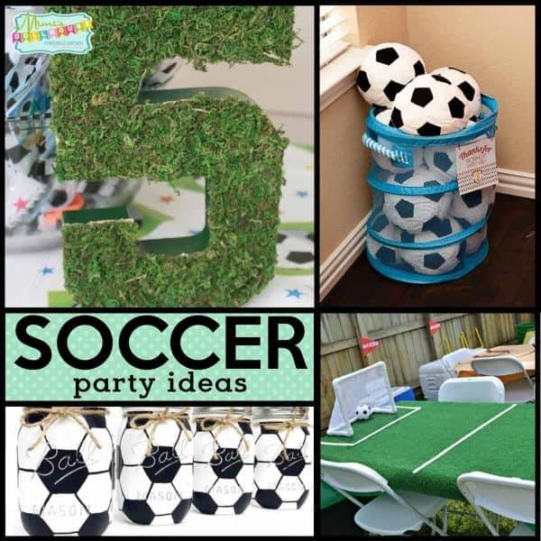 Kicking Soccer Party Ideas Decorations Mimi S Dollhouse