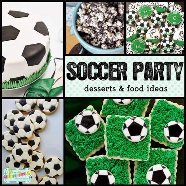 Game Winning Soccer Desserts Party Treats Mimi S Dollhouse