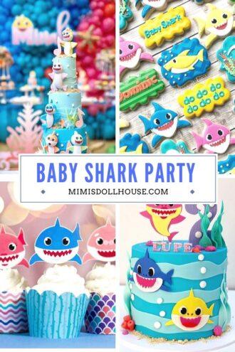 Adorable Fun Baby Shark Birthday Ideas Mimi S Dollhouse