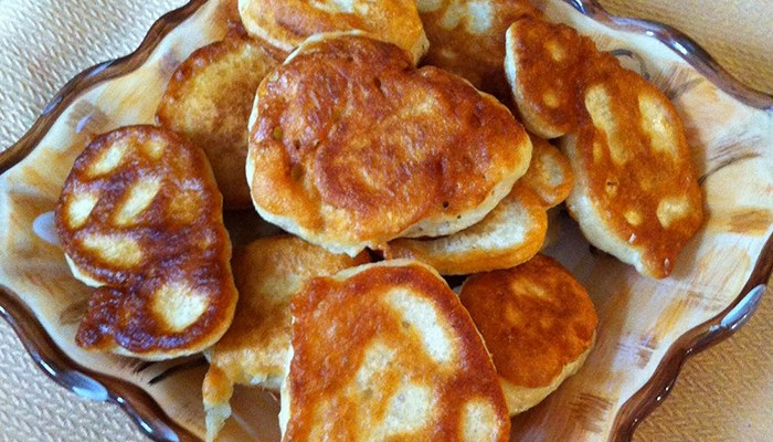 Albanian Fried Dough Cropped