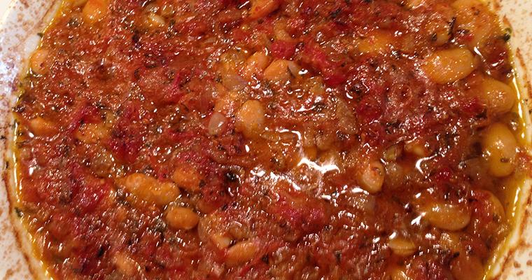 Oven Baked Large Beans (Fasule të Pjekura në Furrë)