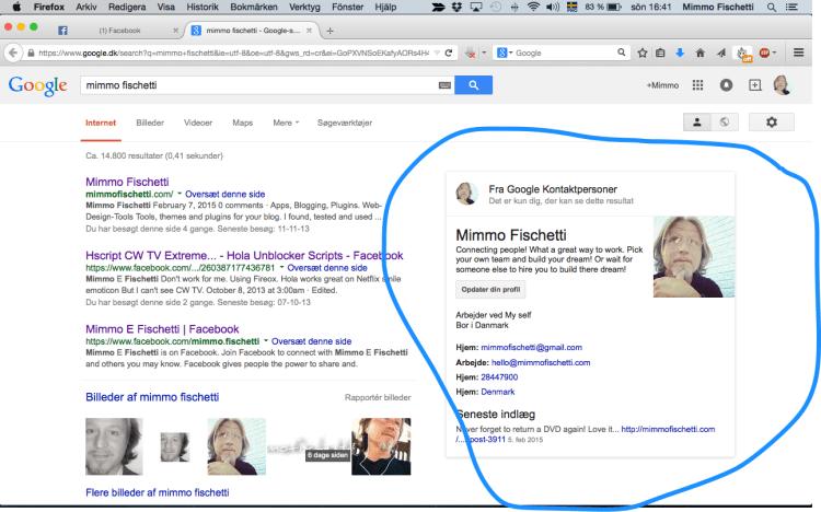 Google loves me