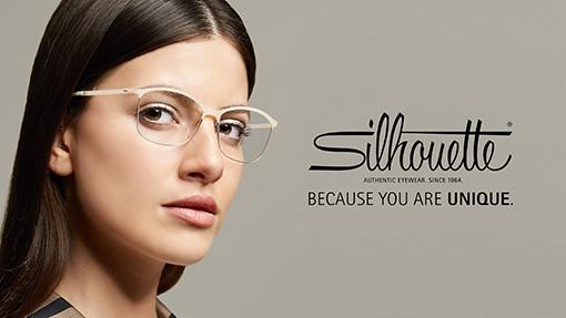 Silhouette fullrim frames for women