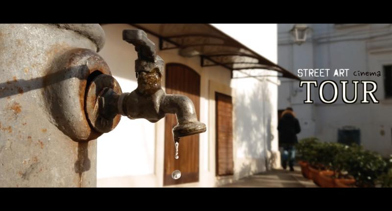 Cinewalking – Street Art Tour Castellaneta by Pietro Manigrasso – Italy