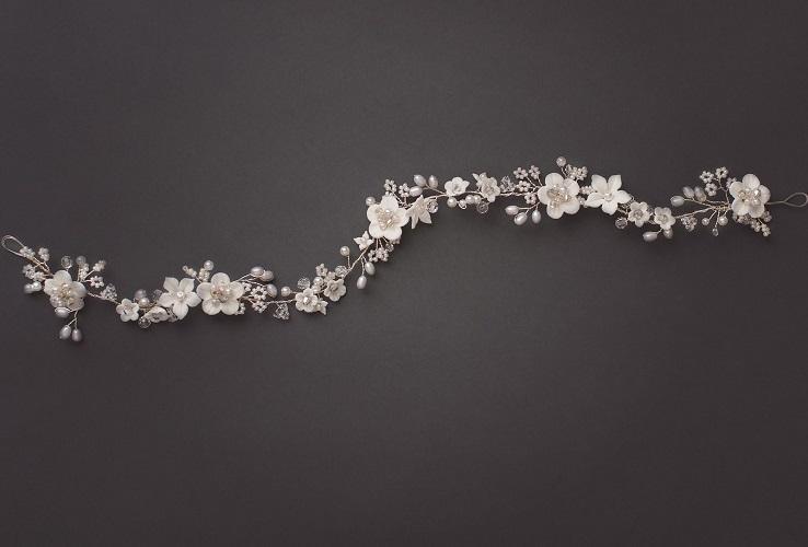 bridal headpiece hair vine