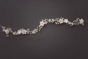 bridal headpiece hair vine