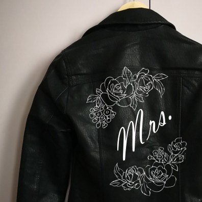 DIY Custom Leather Wedding Jacket Kit