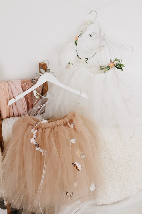 Butterfly tutu skirt and circlet