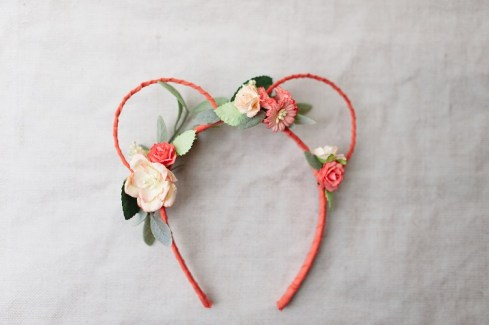 bridesmaid flower headband