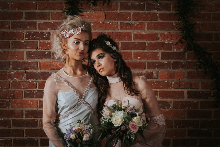 wedding flower crown