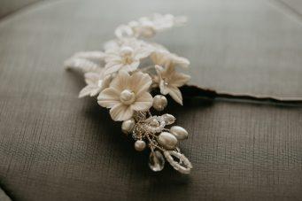 floral hair pin uk