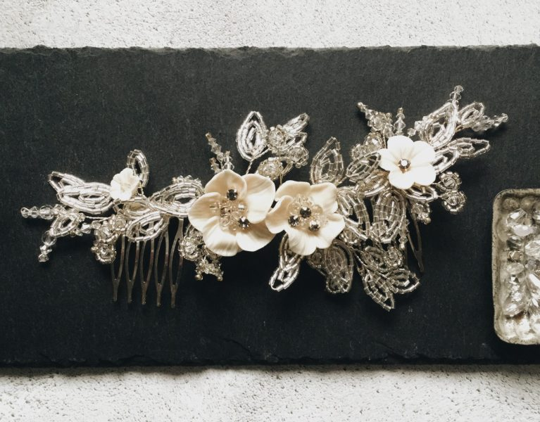 New Bridal Hair Pieces Live in the Mimosa Shop