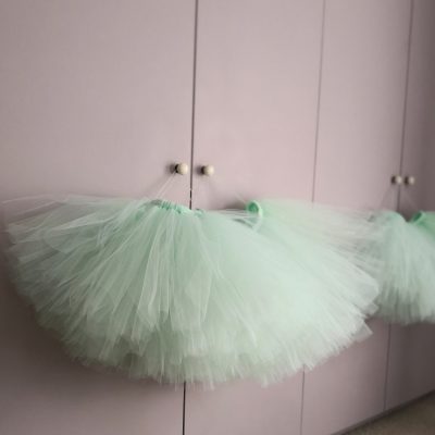 Green Tulle tutu skirt