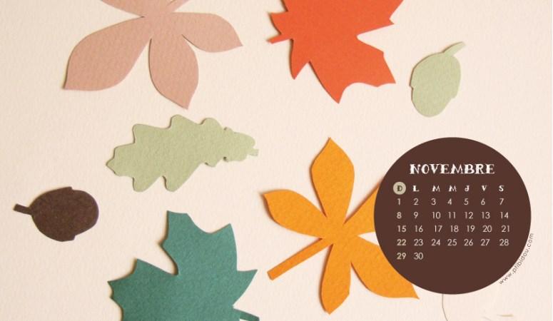Calendrier de Novembre !