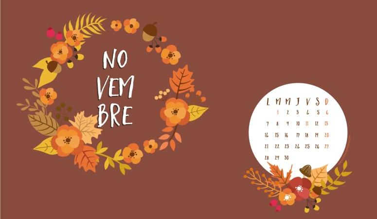 Calendrier de novembre à télécharger