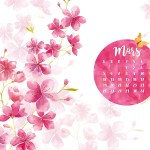 Boutique en mode vacances et Calendrier de Mars 2018 (Freebies & Printable)