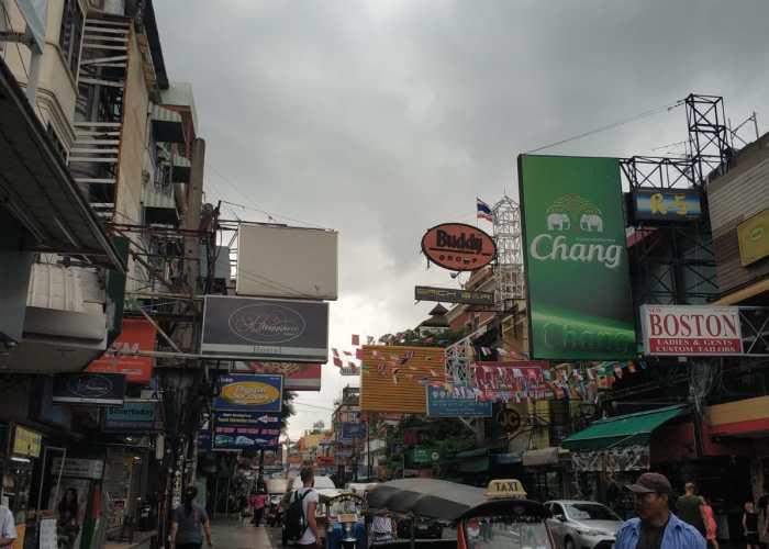 Tuk tuk Tailandia