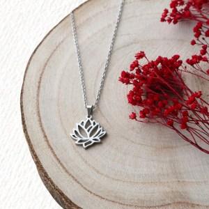 collar flor de loto