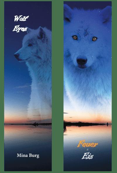Lesezeichen Wolf Eyes Band II