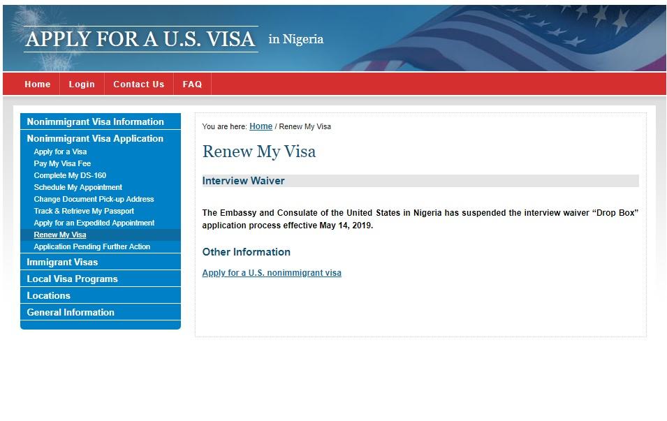 Us visa fee payment in nigeria