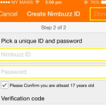 Create Nimbuzz Account on Mobile – Nimbuzz Sign Up-Review