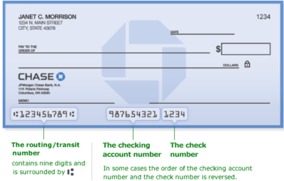 How to Get Chase Bank Routing Number - Chase Routing Number