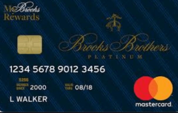 Brooks Brother Credit Card Citi
