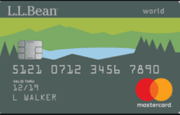 L.L. Bean Mastercard Login