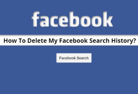 Delete-Facebook-Search-History