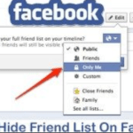 Facebook Users Friend List –Hide Friend User,How to Hide Friends on Facebook