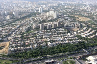 Tehran_view_milad_mansions