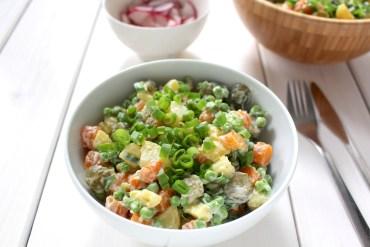Persian Olivieh Salad vegan