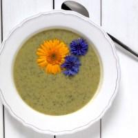 zucchini suppe vegan