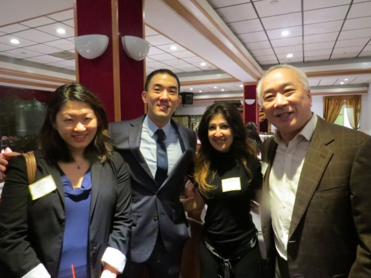 Minami Tamaki LLP attorneys Olivia S. Lee, Sean Tamura-Sato, Seema Bhatt, and Partner Mark Fong.