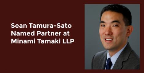 Sean Tamura-Sato Named Partner