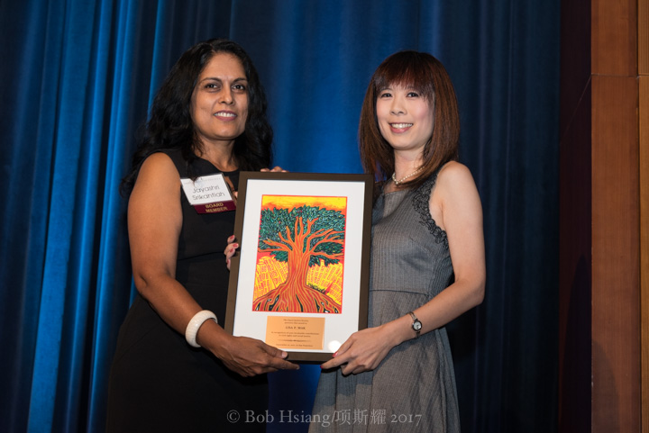 Lisa Mak Honored at Equal Justice Society Gala